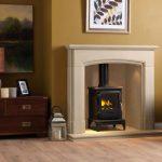 Penman Ayton Stone Fireplace