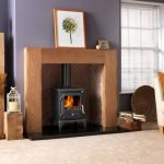 Penman Albero Natural Oak fireplace