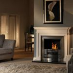 Penman Aversa Pure marble fireplace