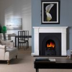 Penman Velletri marble fireplace