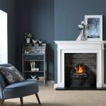 Penman Aversa Limestone fireplace