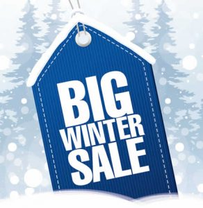 Winter Sale now on.