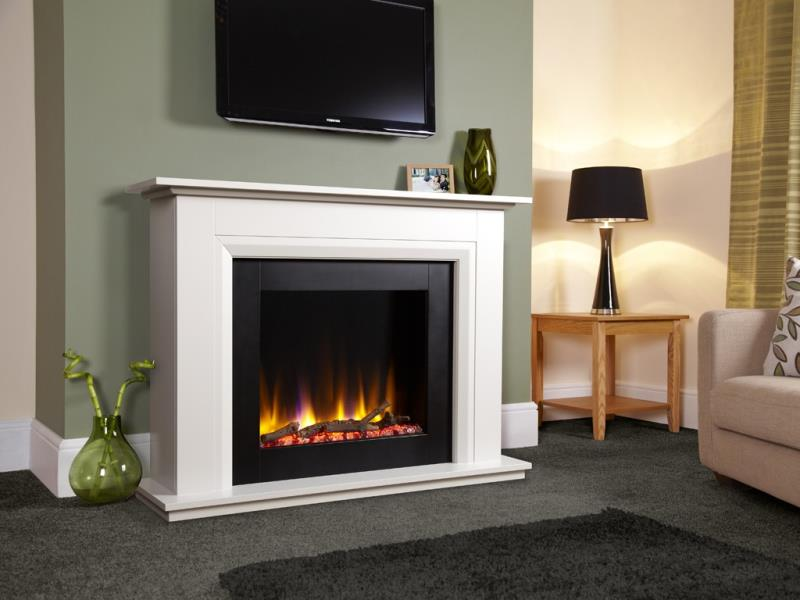 Electric Fireplace Suites Stoke Gas Amp Electric Fireplace