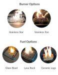 Muztag Kongur 500 outdoor firetable