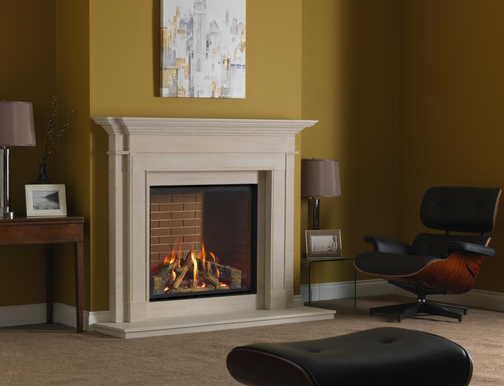 Infinity 800hd Ubl Stoke Gas Amp Electric Fireplace Centre