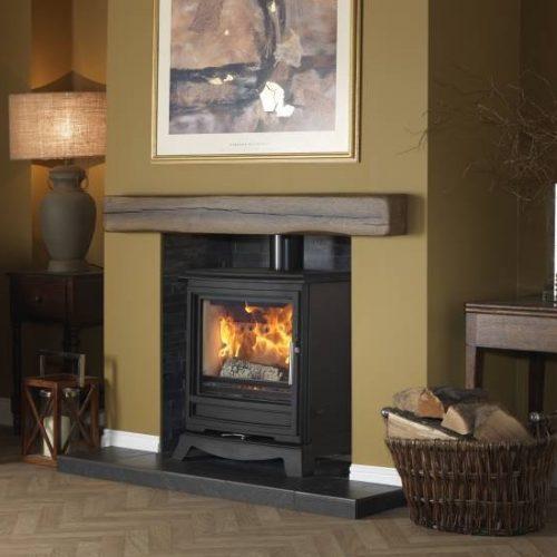 Pure vision CPV5W Slimline multi fuel stove
