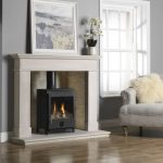 Paragon CF Gas Stove in Balmoral Gold Quartz Liners