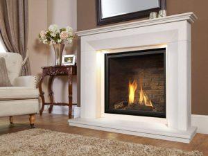 Monet Illumia Gas Fire Suite