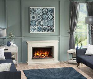 Vistus Pryzm Fireplace suite