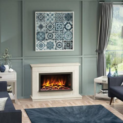 Vistus Pryzm Fireplace suite
