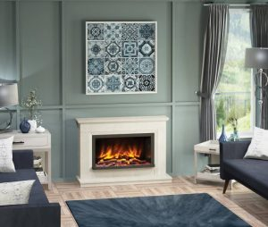 Vistus Fireplace suite