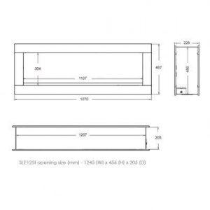Dimensions SLE125T