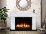 Ultiflame vr adour aleesia illumia suite white black interior