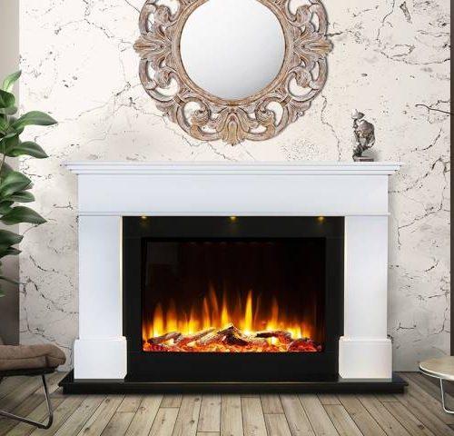 Ultiflame vr adour aleesia illumia suite white black interior